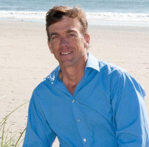 Richard Blue on Beach